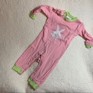 Hatley One-Piece Bunny Sleeper, size 6-12 Months